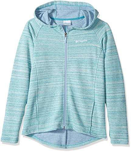 Columbia Little Girls' Athena Full Zip Hoodie, Pacific Rim, X-Small