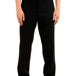 Gucci Men's Wool Black Dress Pants US 40 IT 56