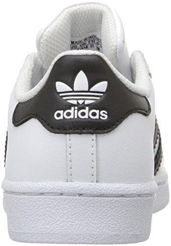 new products 80410 e6e0f adidas enfants « superstar foundation el c basket, blanc       noir   blanc