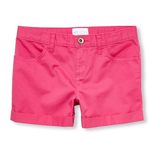The Children's Place Big Girls' Shorts, Sweet Princess, 6X/7
