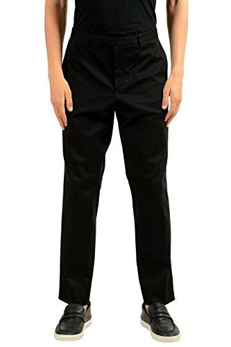 Gucci Men's Black Stretch Casual Pants US 38 IT 54