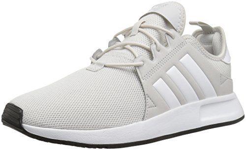 adidas Originals Unisex-Kids X_PLR Running Shoe, Grey/White/White, 5 M US Big Kid