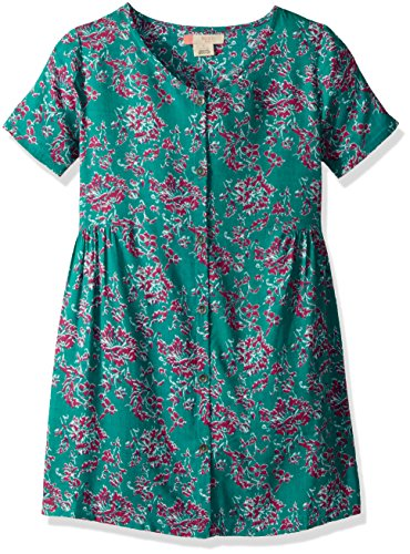 Roxy Big Girls' All You Need is Sun Dress, Latigo Bay Bali Floral, 12/L