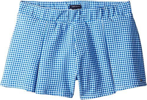 Tommy Hilfiger Kids Girl's Pleated Pull-On Shorts (Little Kids/Big Kids) Regatta Blue 10