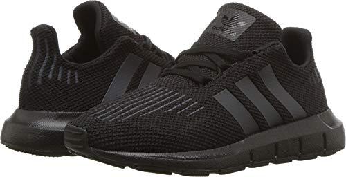 adidas Swift Run C Sneaker (Little Kid),Black,2.5