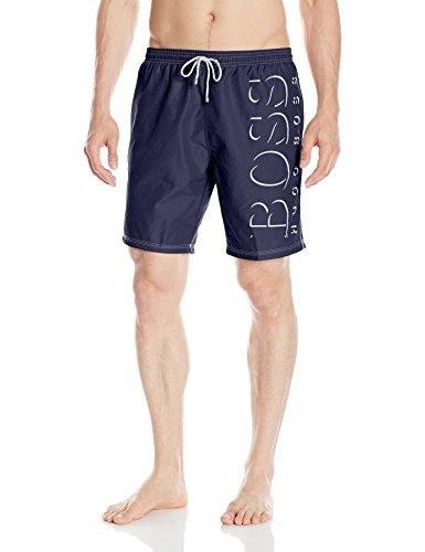 Hugo Boss BOSS Men's Killfish Swim Trunk, Navy, Medium