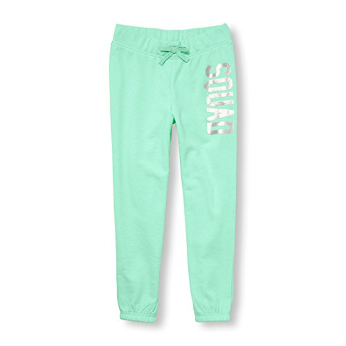 The Children's Place Big Girls' Jogger Pants, Mermaids Tale, L (10/12)