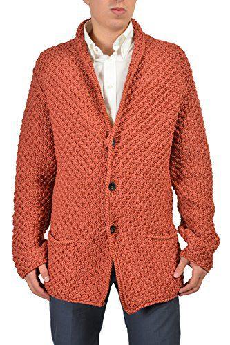 Gucci Men's Brownish Orange Jacket Size US M IT 50