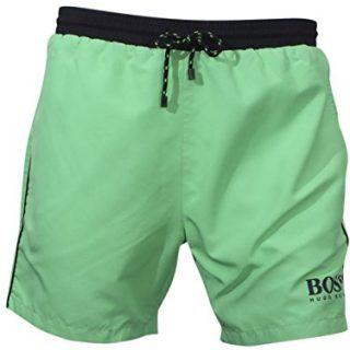 Hugo Boss Men's Starfish Light/Pastel Green Trunks Shorts Swimwear Sz: L