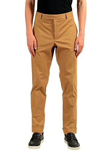 "Gucci ""Riding Men's Beige Stretch Casual Pants US 36 IT 52"