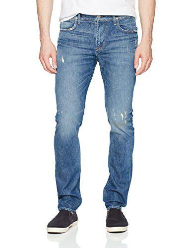 Hudson Jeans Men's Axl Skinny Zip Fly Jeans, Intoxicate, 31