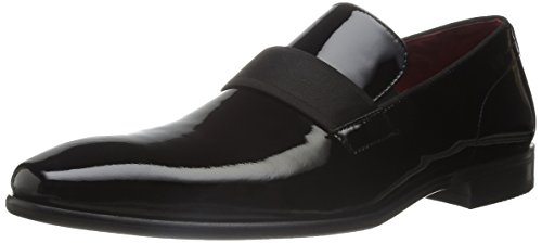 HUGO by Hugo Boss Men's C-Huver Slip-On Loafer, Black, 13 M US