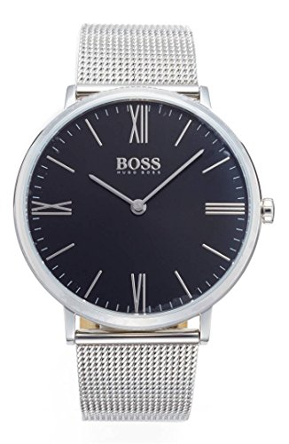 Hugo Boss Jackson Men's Watch Silver 40mm Stainless Steel