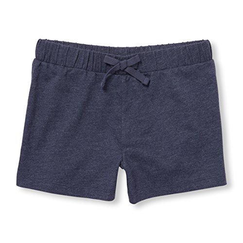 The Children's Place Big Girls' Fashion Shorts, Eveningblu, XL (14)