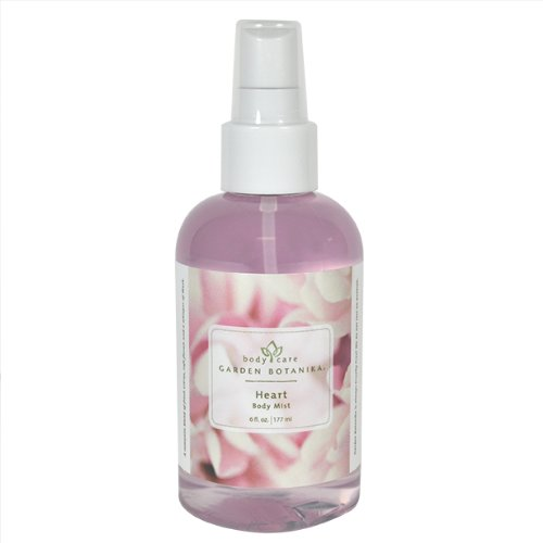 Garden Botanika Heart Body Mist, Fresh Floral, 6 Fluid Ounce