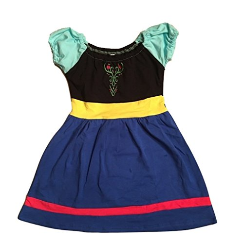 L C Boutique Girls Cotton Play Dress Princess