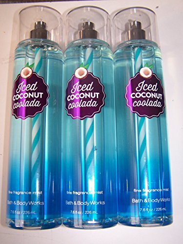 Bath & Body Works Ice Coconut Coolada Fine Fragrance Mist