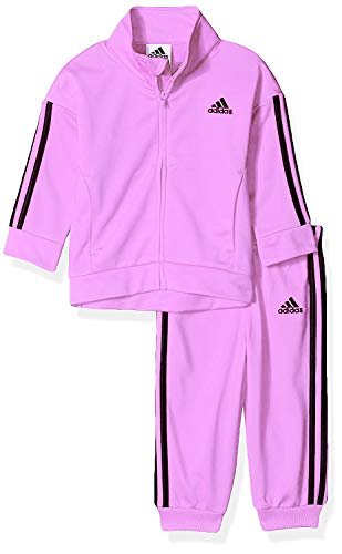 adidas Tricot Jacket Pant Set (Light Lilac, 5)