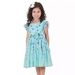 Disney Tsum Tsum Girls Chiffon Dress (4T)