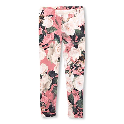 The Children's Place Big Girls' Printed Legging, Flora, M (7/8)