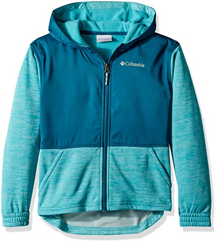 Columbia Little Kids S'More Adventure Hybrid Hoodie, Geyser Heather, XXS