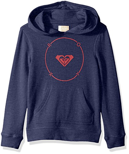 Roxy Big Girls' Moon is The Light Hoodie, Deep Cobalt, 14/XL