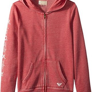 Roxy Big Girls' Dance Forever Zip-up Hooded Sweatshirt