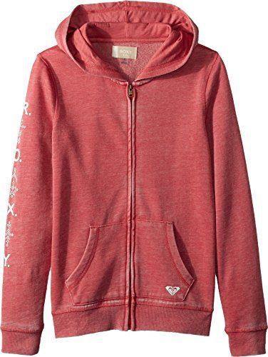 Roxy Big Girls' Dance Forever Zip-up Hooded Sweatshirt