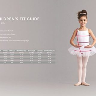Capezio Big Girls' Hold & Stretch Footed Tight,Light Suntan,M (8-10)