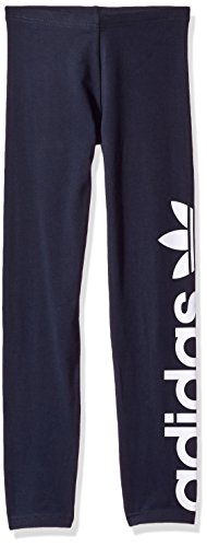 adidas Originals Sets Toddler Girls' Kids Leggings, Legend Ink/White/Linear Trefoil, 5T