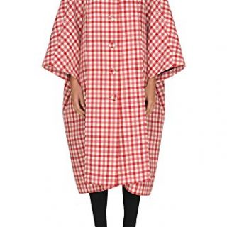 Balenciaga Women's Red Wool Coat
