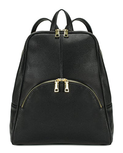 Scarleton Chic Casual Backpack - Black