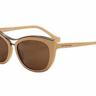 Balenciaga Women's Pink Fashion Cat Eye Sunglasses 57mm