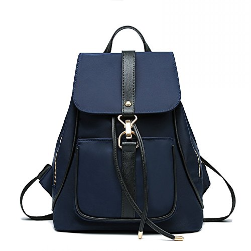 Classic Fashion Nylon Backpack Shoulder Bag Oxford Casual Daypack