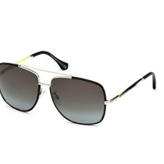 Sunglasses Balenciaga BA shiny black / gradient smoke