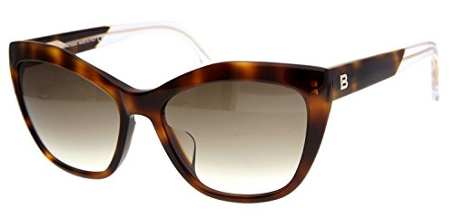 Balenciaga Sunglasses, Havana, 58 mm
