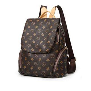 Fashion Shoulder Bag Rucksack PU Leather, Women Girls Ladies Backpack