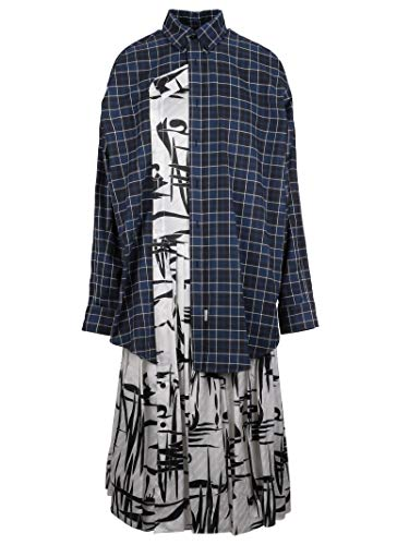 Balenciaga Women's Multicolor Silk Dress