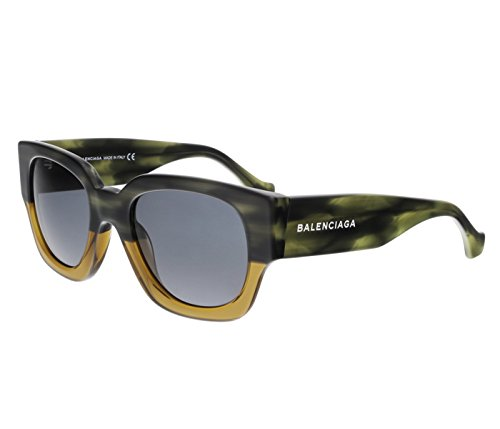 Sunglasses Balenciaga BA 11 65V horn/other / blue