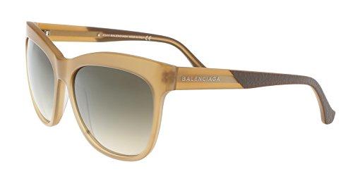 Balenciaga Brown Square Sunglasses for Womens