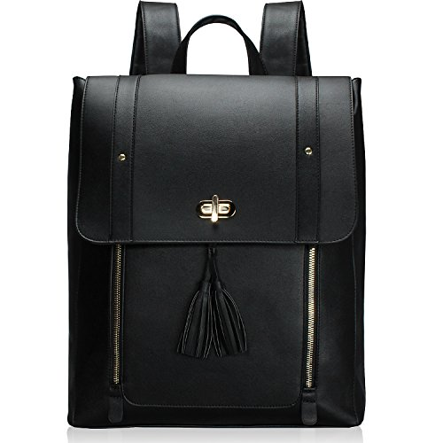 ESTARER Women PU Leather Backpack, 15.6inch Laptop Vintage College ESTARER Women PU Leather Backpack, 15.6inch Laptop Vintage College