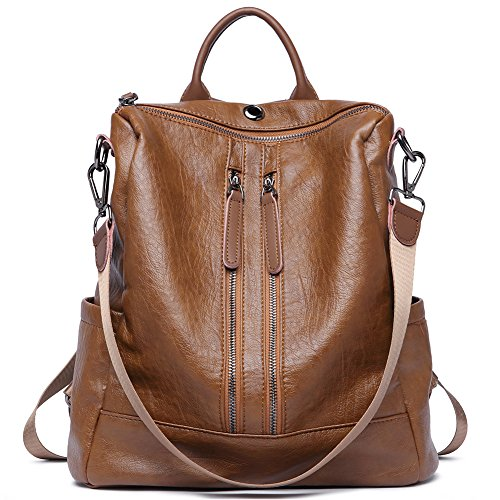 Women Backpack Purse PU Leather Fashion Travel Casual