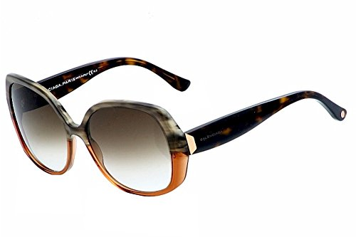 Sunglasses Balenciaga Brown Horn Dark Havana