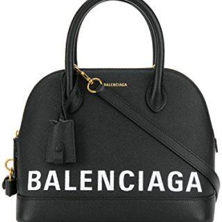 Balenciaga Women's Black Leather Handbag