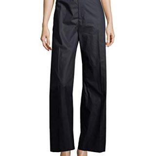 Balenciaga Womens Wide Leg Trouser, 40