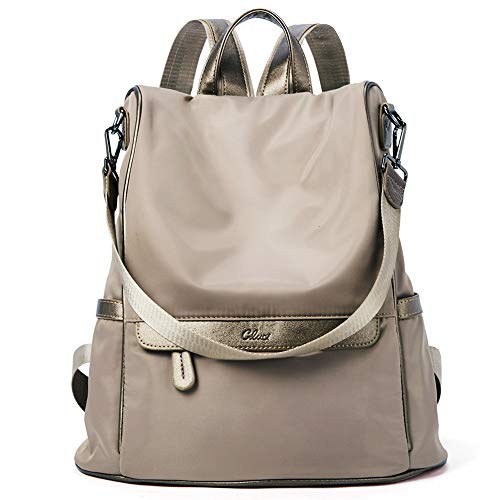 Women Backpack Purse Nylon Fashion Casual Shoulder Bag Lightweight