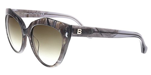 Sunglasses Balenciaga grey/other / gradient green