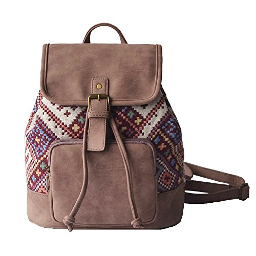 Lily Queen Fashion Small Purse Backpack Lightweight for Women