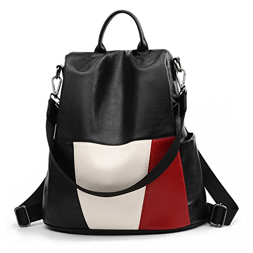 Women Backpack Purse Anti Theft, Waterproof Detachable Covertible