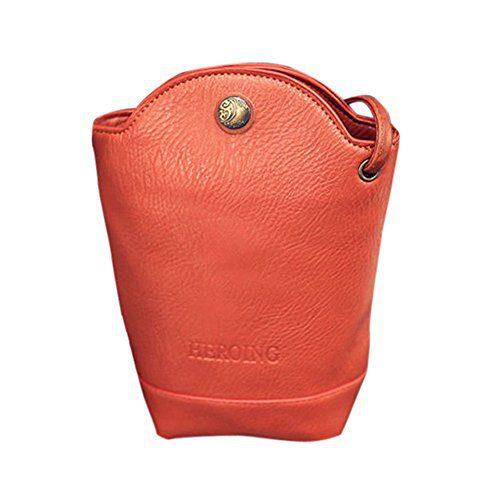 TEARWIN Women Leather Women Messenger Bags Slim Crossbody Shoulder Bags